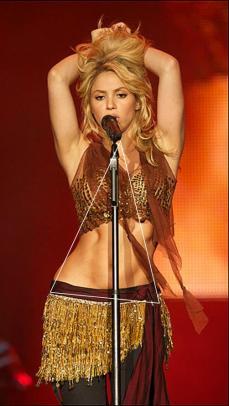 Shakira - chanteuse